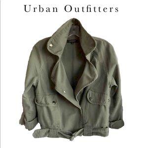 Urban Outfitters Margot Surplus moto jacket